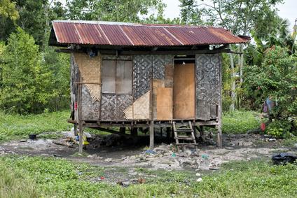 Die Lebensbedingungen auf den Plantagen sind oft dramatisch.