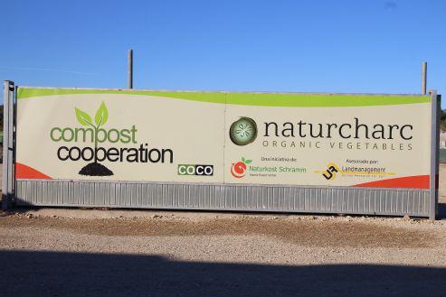 Sorgt für schonenden Umgang mit den Böden - die Kompostanlage bei naturcharc