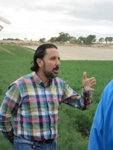 Kennt den Bio-Anbau wie kaum ein anderer und produziert seit 1993 ökologisch - David Samper-Martinez