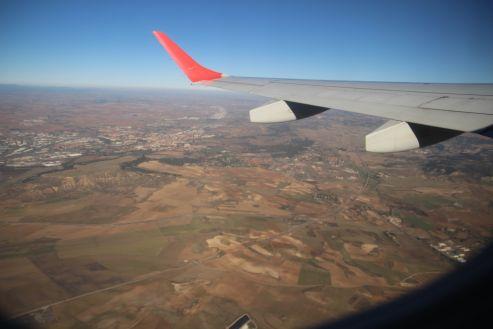 Auf dem Rückweg, ein letzter Blick auf das sonnige Andalusien